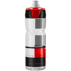 Gertuvė Elite Crystal Ombra Clear Red Graphic 750ml
