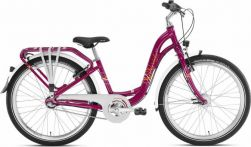 "Dviratis 24"" PUKY Skyride 24-3 City light berry"