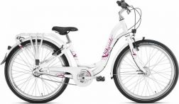 "Dviratis 24"" Puky Skyride 24-3 City light white"