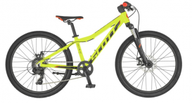 "Dviratis 24"" Scott Scale 24 Disc, yellow/black"