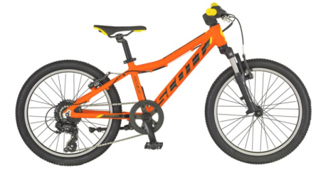"Dviratis 20"" Scott Scale 20, orange/black"