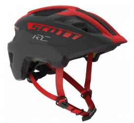 Šalmas Scott Spunto Junior grey/red RC