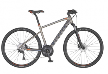 "Dviratis 28"" Scott Sub Cross 20 Men pilkas"