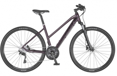 "Dviratis 28"" Scott Sub Cross 20 Lady bordo"