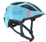 Šalmas Scott Spunto Kid light blue