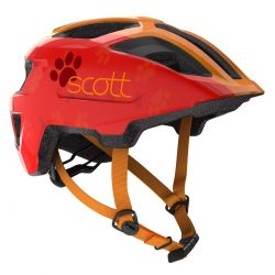 Šalmas Scott Spunto Kid light red/orange