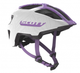 Šalmas Scott Spunto Junior white/purple