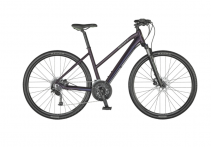 "Dviratis 28"" Scott Sub Cross 30 Lady bordo"