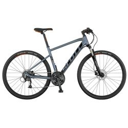 "Dviratis 28"" Scott Sub Cross 40 Men pilkas"