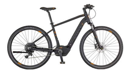"Dviratis 28"" Scott  E-Sub Cross 10 Men pilkas"