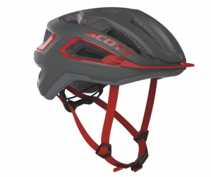 Šalmas Scott ARX MTB dark grey/red